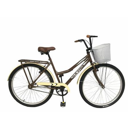 Bicicleta Depedal Bikes Miami Beach Aro 26 Rígida 1 Marcha - Marrom