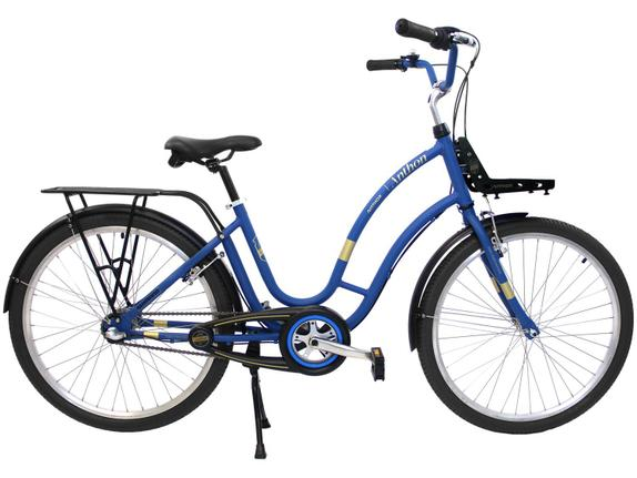 Bicicleta Nathor Anthon Aro 26 Rígida 3 Marchas - Azul