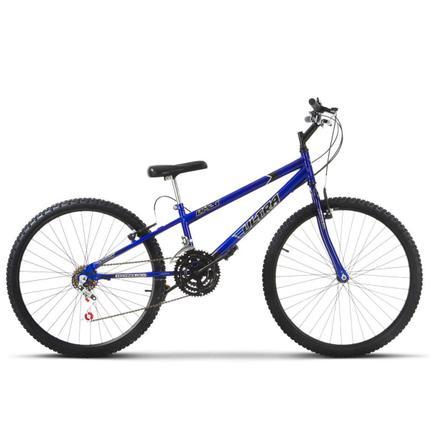 Bicicleta Ultra Bikes Pro Tork Rebaixada Aro 26 Rígida 18 Marchas - Azul