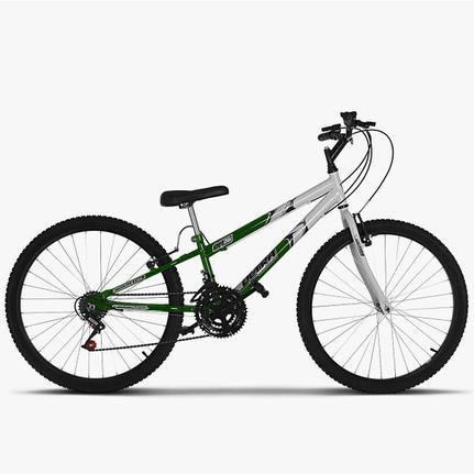 Bicicleta Ultra Bikes Pro Tork Aro 26 Rígida 18 Marchas - Branco/lilás