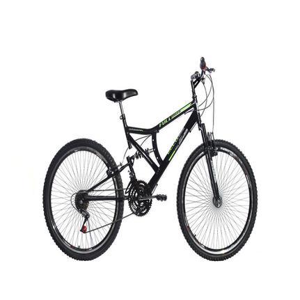 Bicicleta Ello Bike Blaze Aro 26 Full Suspensão 21 Marchas - Preto
