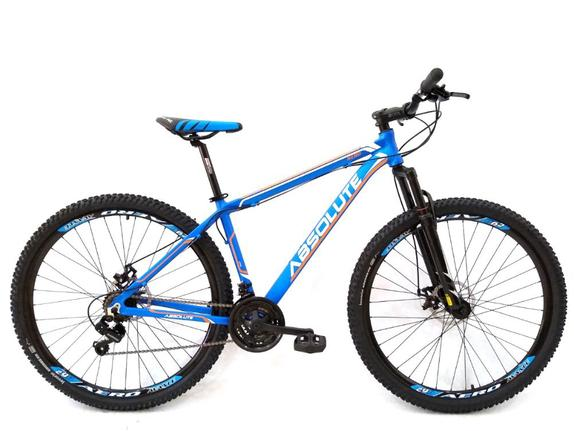 Bicicleta Absolute Nero T19 Aro 29 Susp. Dianteira 21 Marchas - Azul
