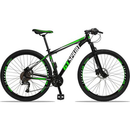 Bicicleta Gt Sprint Mx1 Disc T19 Aro 29 Susp. Dianteira 27 Marchas - Verde