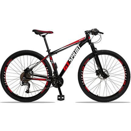 Bicicleta Gt Sprint Mx1 Disc T19 Aro 29 Susp. Dianteira 27 Marchas - Vermelho