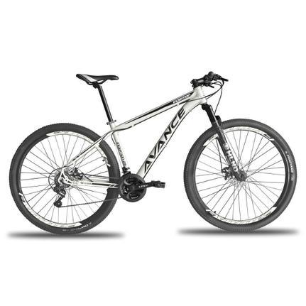Bicicleta Avance Bike Inception T19 Aro 29 Susp. Dianteira 21 Marchas - Branco