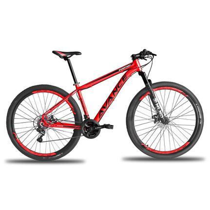 Bicicleta Avance Bike Inception T19 Aro 29 Susp. Dianteira 21 Marchas - Vermelho