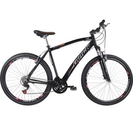 Bicicleta Track&bikes Black Aro 29 Susp. Dianteira 21 Marchas - Preto