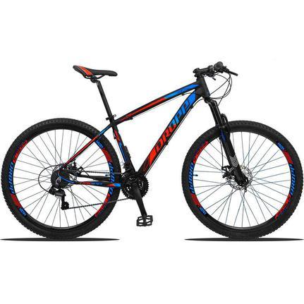 Bicicleta Dropp Z3 Disc M T17 Aro 29 Susp. Dianteira 21 Marchas - Azul/vermelho