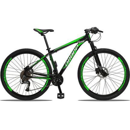 Bicicleta Dropp Aluminum Disc H T17 Aro 29 Susp. Dianteira 27 Marchas - Preto/verde
