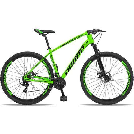 Bicicleta Dropp Tx Bull T17 Aro 29 Susp. Dianteira 21 Marchas - Verde