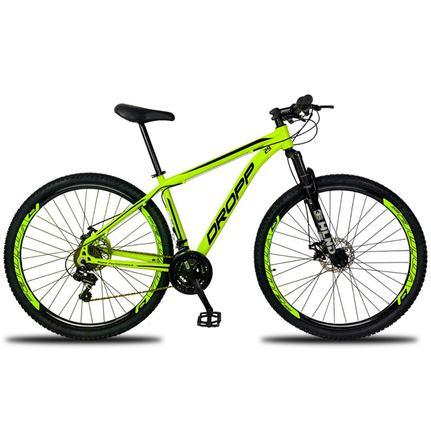 Bicicleta Dropp Aluminum Disc M T15.5 Aro 29 Susp. Dianteira 21 Marchas - Amarelo