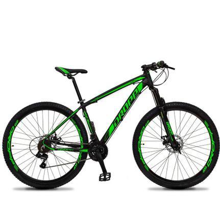 Bicicleta Dropp Z3 Disc M T17 Aro 29 Susp. Dianteira 21 Marchas - Preto/verde