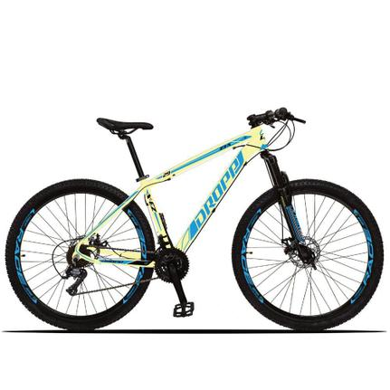 Bicicleta Dropp Z3x Disc M T19 Aro 29 Susp. Dianteira 21 Marchas - Azul/branco