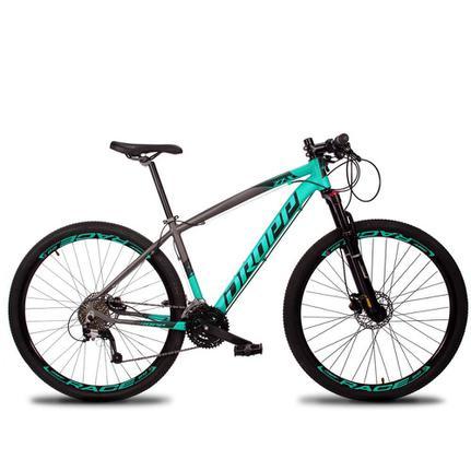 Bicicleta Dropp Z7x Disc H T17 Aro 29 Susp. Dianteira 27 Marchas - Azul/cinza