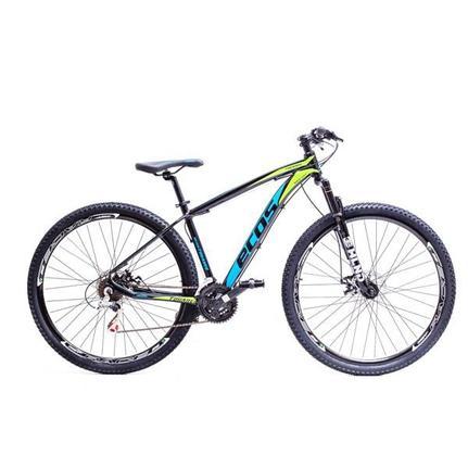 Bicicleta Ecos Touareg Aro 29 Susp. Dianteira 24 Marchas - Azul