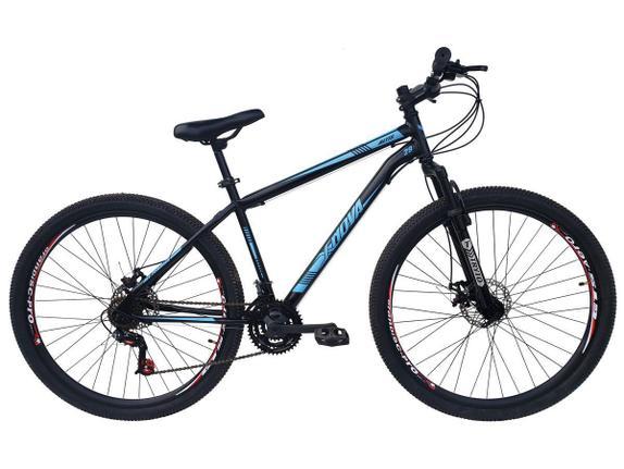 Bicicleta Xnova Mountain Aro 29 Rígida 21 Marchas - Azul