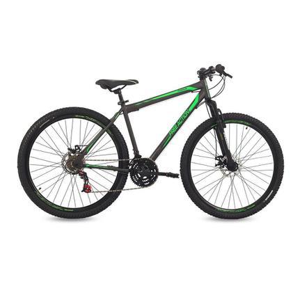 Bicicleta Free Action Flexus 2.0 Aro 29 Susp. Dianteira 21 Marchas - Preto/verde