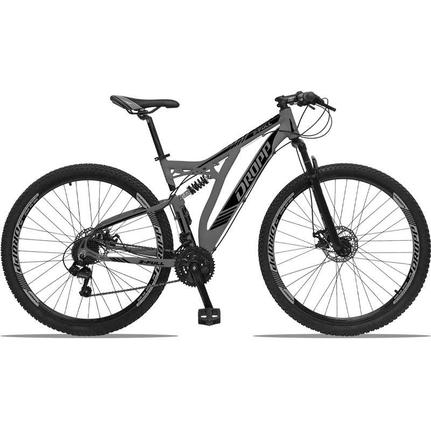 Bicicleta Dropp Z-full Aro 29 Full Suspensão 21 Marchas - Grafite