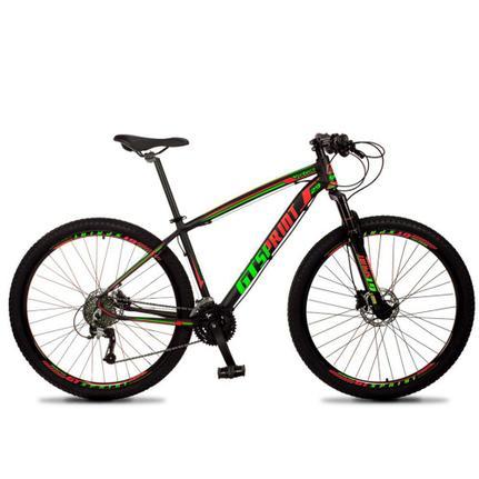 Bicicleta Gt Sprint Race T17 Aro 29 Susp. Dianteira 27 Marchas - Preto/vermelho