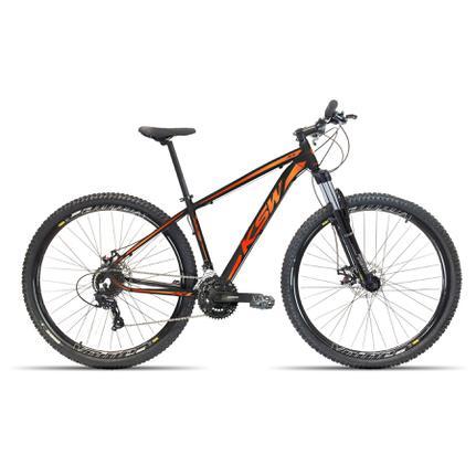 Bicicleta Ksw Xl 2020 Disc H T19 Aro 29 Susp. Dianteira 27 Marchas - Laranja/preto