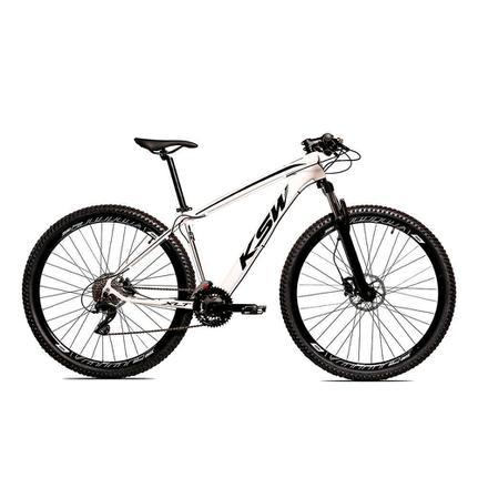 Bicicleta Ksw Ltx Disc M T15 Aro 29 Susp. Dianteira 24 Marchas - Branco