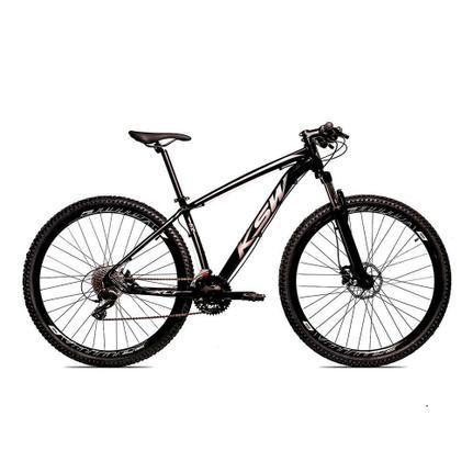 Bicicleta Ksw Ltx Disc T19 Aro 29 Susp. Dianteira 24 Marchas - Prata/preto