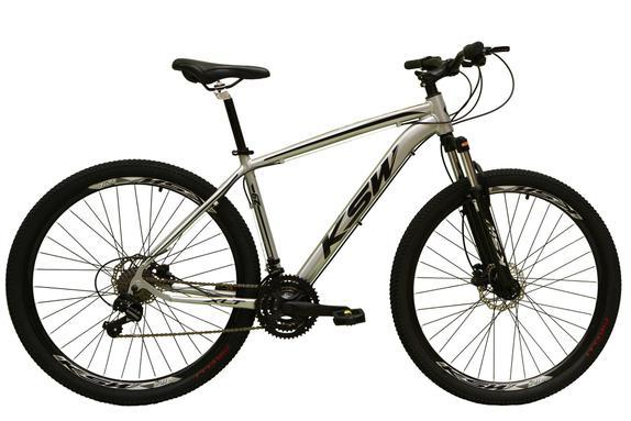 Bicicleta Ksw Xlt Disc M T17 Aro 29 Susp. Dianteira 24 Marchas - Laranja/preto