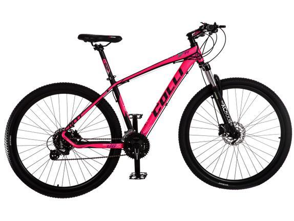 Bicicleta Colli Bike F11 Aro 29 Susp. Dianteira 24 Marchas - Rosa