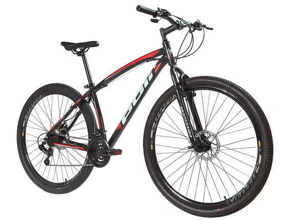 Bicicleta Polimet Diant Aro 29 Susp. Dianteira 21 Marchas - Laranja/preto