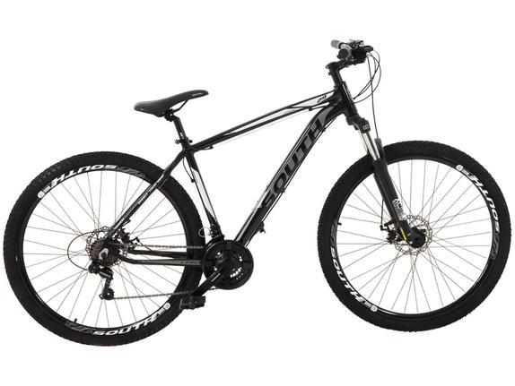 Bicicleta South Bike Hunter T18 Aro 29 Susp. Dianteira 21 Marchas - Preto