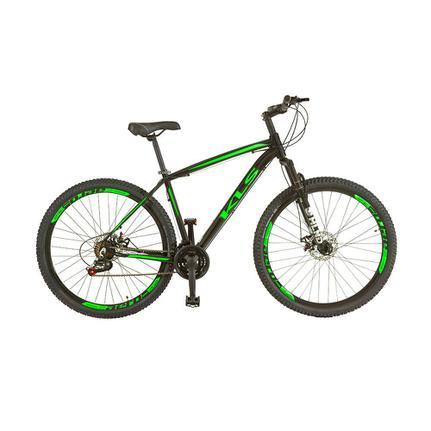 Bicicleta Kls Sport Gold Aro 29 Rígida 21 Marchas - Preto/verde