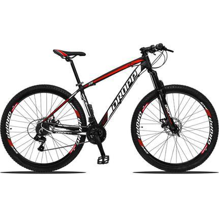 Bicicleta Dropp Z3 Disc M T15 Aro 29 Susp. Dianteira 21 Marchas - Preto/vermelho