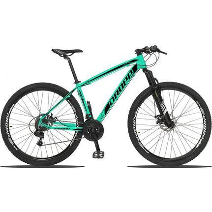 Bicicleta Dropp Z3 Disc M T15 Aro 29 Susp. Dianteira 21 Marchas - Preto/verde
