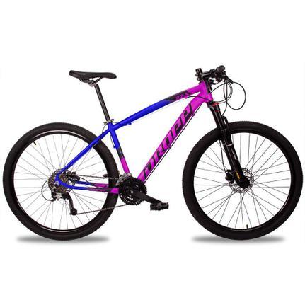 Bicicleta Dropp Z7x Disc H T15 Aro 29 Susp. Dianteira 27 Marchas - Azul/rosa