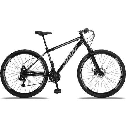 Bicicleta Dropp Z4x 2020 T17 Aro 29 Susp. Dianteira 21 Marchas - Cinza/preto