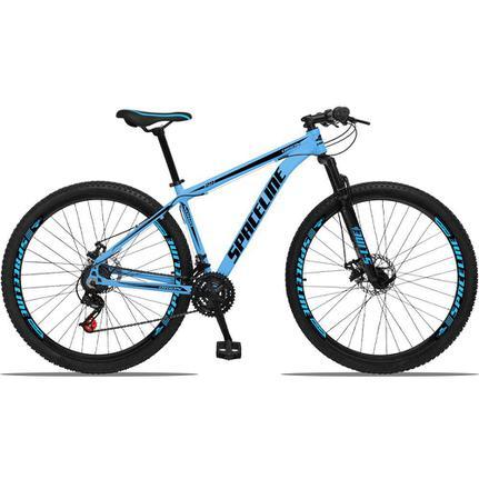 Bicicleta Spaceline Orion Disc T17 Aro 29 Susp. Dianteira 21 Marchas - Azul