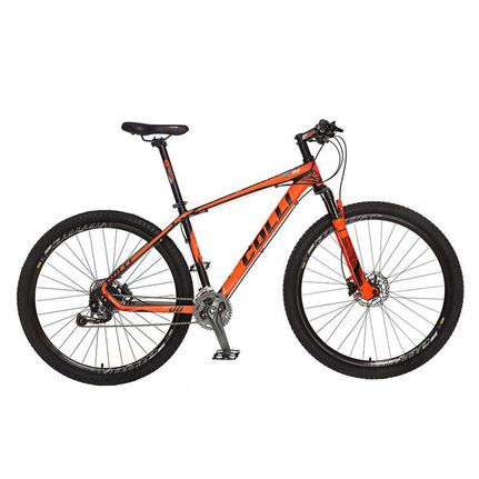 Bicicleta Colli Bike F11 Aro 29 Susp. Dianteira 24 Marchas - Laranja