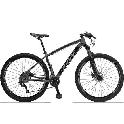 Bicicleta Dropp Z4x 2020 T19 Aro 29 Susp. Dianteira 27 Marchas - Cinza/preto