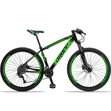 Bicicleta Dropp Z4x 2020 T19 Aro 29 Susp. Dianteira 27 Marchas - Preto/verde