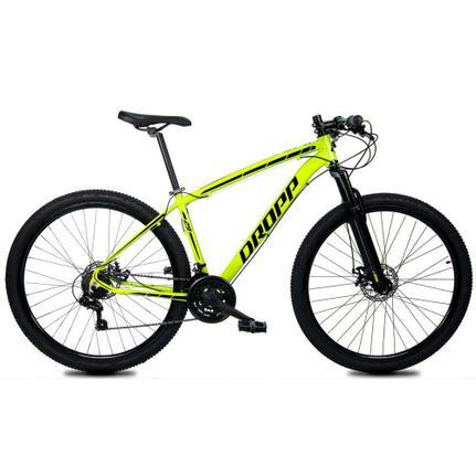 Bicicleta Dropp Z1-x Disc M T21 Aro 29 Susp. Dianteira 21 Marchas - Amarelo/preto