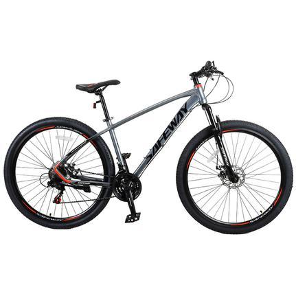 Bicicleta Safeway Aro 29 Susp. Dianteira 21 Marchas - Cinza/preto
