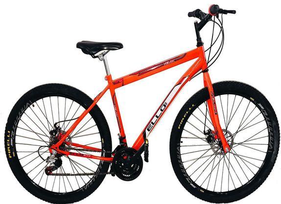Bicicleta Ello Bike Velox Aro 29 Rígida 21 Marchas - Laranja