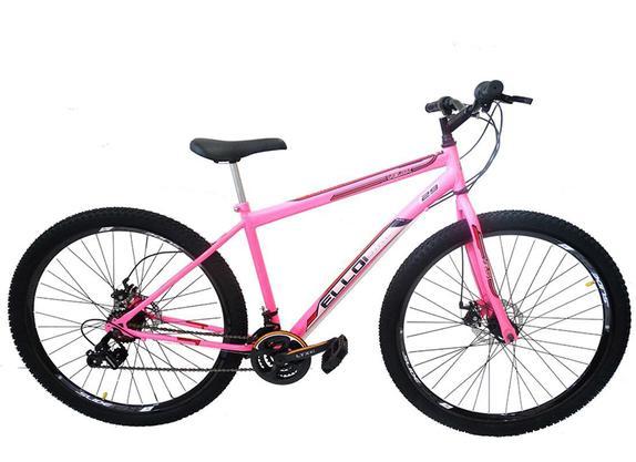 Bicicleta Ello Bike Velox Aro 29 Rígida 21 Marchas - Rosa