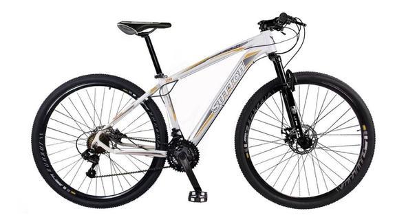 Bicicleta Sutton Gold T17 Aro 29 Susp. Dianteira 21 Marchas - Branco