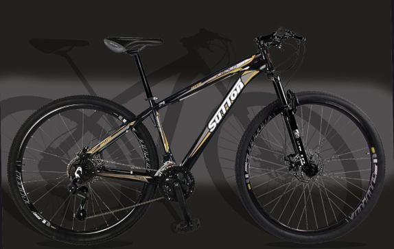 Bicicleta Sutton Gold T19 Aro 29 Susp. Dianteira 21 Marchas - Preto