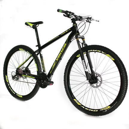 Bicicleta Venzo Bike Aquila T19 Aro 29 Susp. Dianteira 27 Marchas - Amarelo/preto