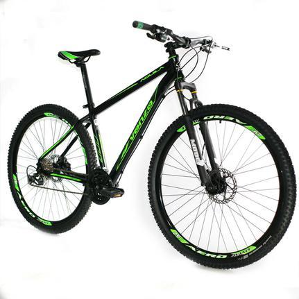 Bicicleta Venzo Bike Aquila T19 Aro 29 Susp. Dianteira 27 Marchas - Preto/verde