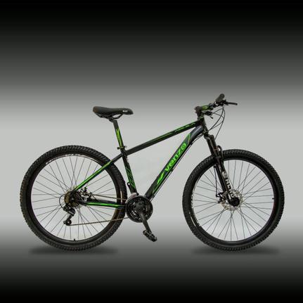 Bicicleta Venzo Bike Aquila T19 Aro 29 Susp. Dianteira 21 Marchas - Preto/verde