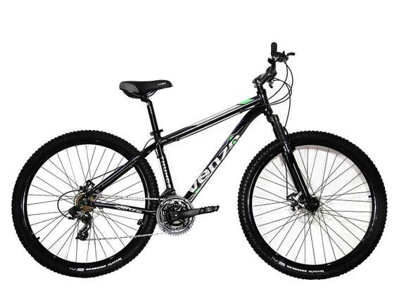 Bicicleta Venzo Bike Falcon Aro 29 Susp. Dianteira 27 Marchas - Azul/preto