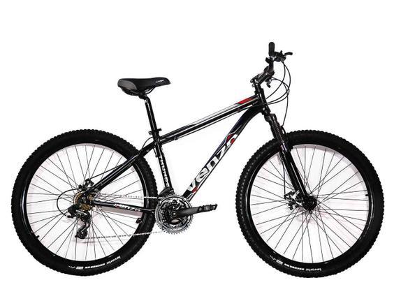 Bicicleta Venzo Bike Spark Aro 29 Susp. Dianteira 24 Marchas - Preto